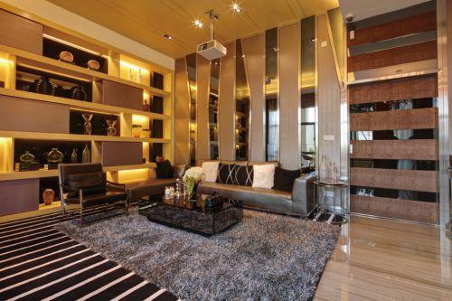 时尚客厅装修设计