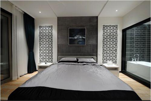 大方的简约卧室设计