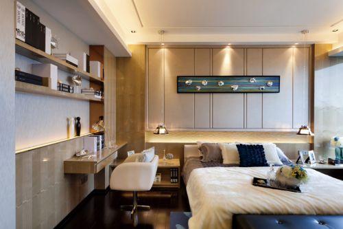 书房卧室一体效果图