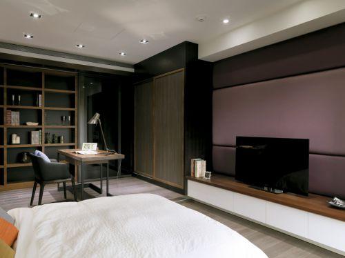 书房卧室一体装修图