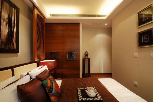 木地板的舒适卧室设计