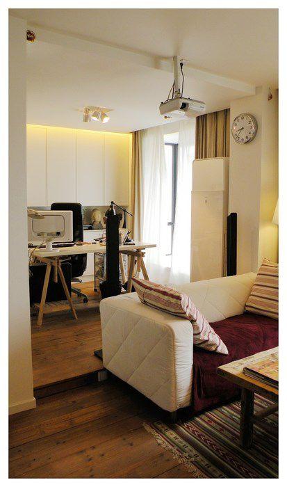 现代田园小客厅设计
