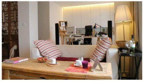 文艺范的小清新客厅设计