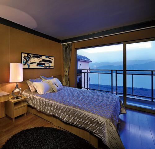 海边观景房卧室设计