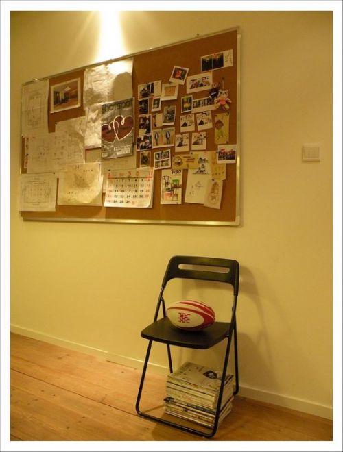 简约的卧室照片墙设计