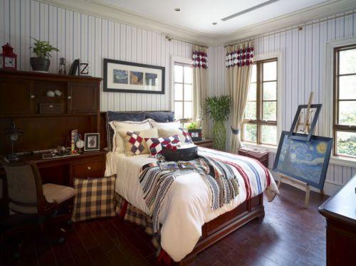 艺术气息的小卧室装修效果图