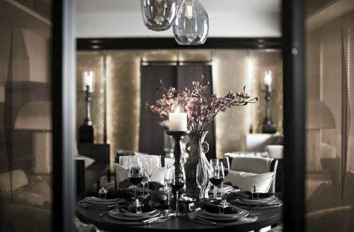优雅简约的餐厅设计