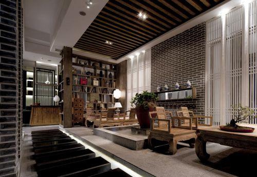 田园风格木质家具客厅设计