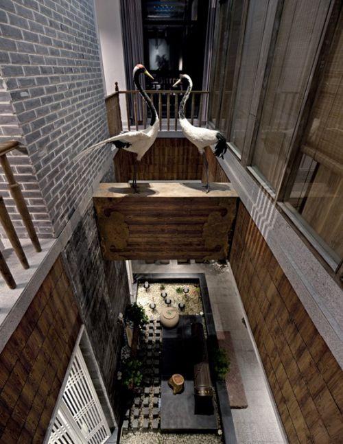 复式住宅客厅俯视图