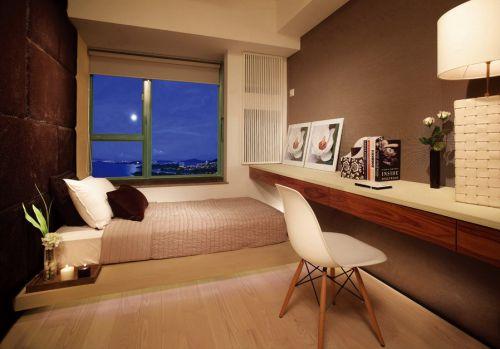 现代简约书房榻榻米设计