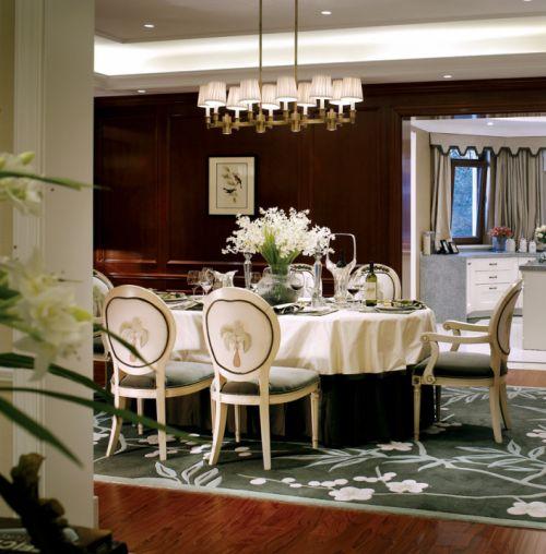 美式风格别墅餐厅设计