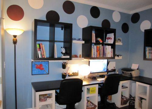 地中海儿童书房装修设计