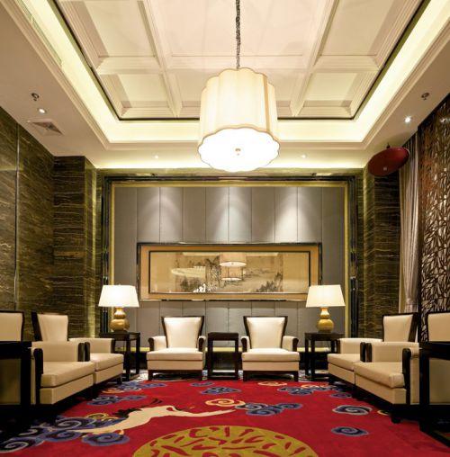 新中式豪华简约的客厅装修