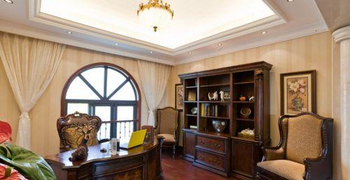 欧式古典书房装修设计