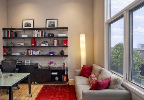 简约书房装修设计效果图