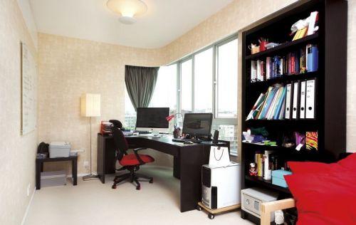 经典简约风格书房设计