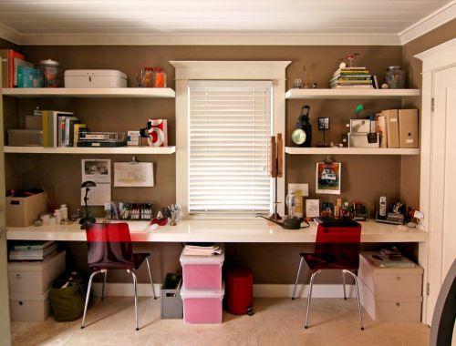 简欧风格书房装修设计