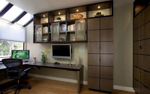 极简主义书房装修效果图