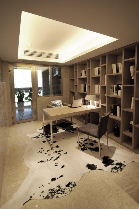 简约风格书房装修设计