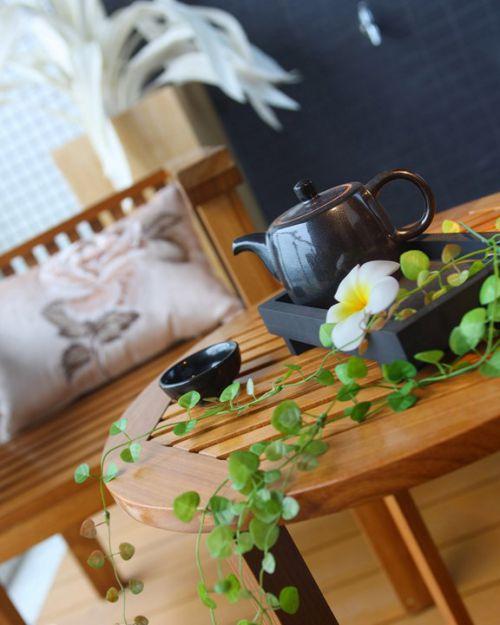 中式茶艺木质茶几效果图