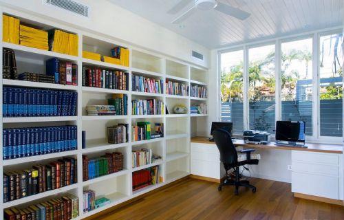 美式风格书房装修效果图