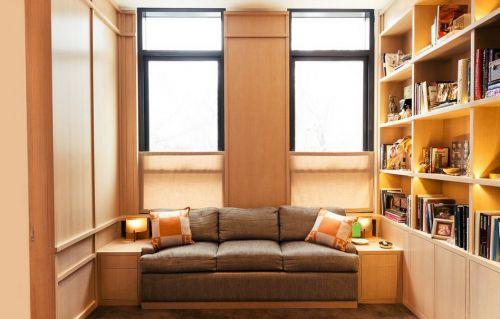新中式休闲书房效果图