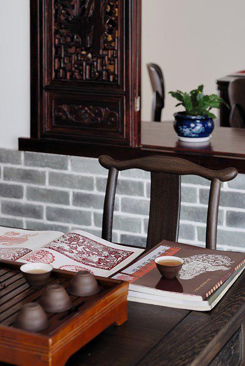古典风格茶室装潢