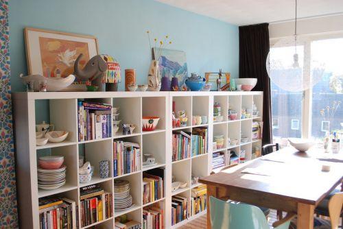混搭风格书房收纳设计