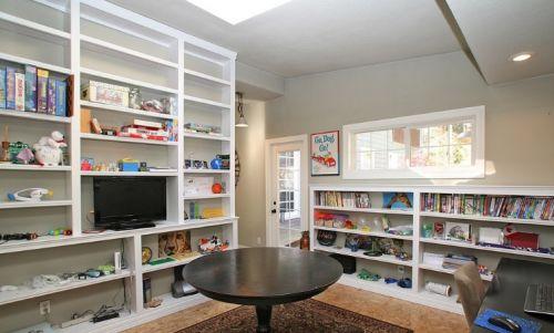 美式风格书房收纳设计图