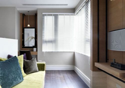 简约卧室小客厅设计