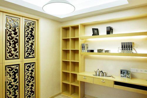 新中式书房吊顶设计装潢