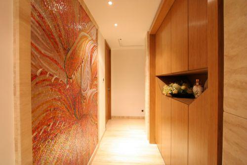 简约风格客厅玄关设计