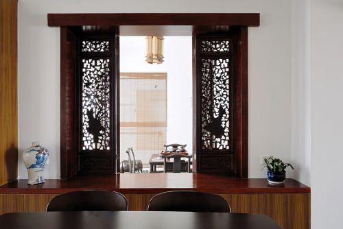中式风格镂空窗户设计