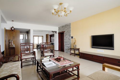 古典风格客厅整体效果图