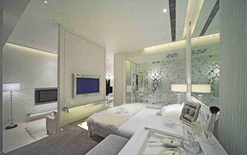 欧式风格卧室电视背景墙设计