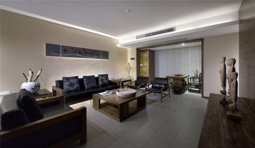 东南亚风格简约客厅设计