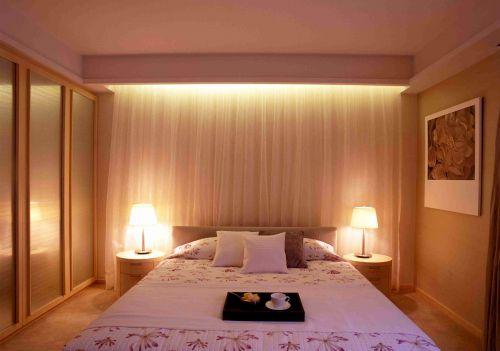日式风格卧室灯光设计效果图