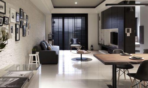 极致简约风格客厅墙面设计