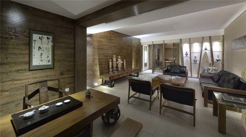 东南亚风格灰色客厅效果图