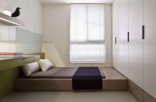 简约日式卧室榻榻米设计