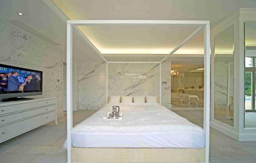 简欧别墅卧室装修设计效果图