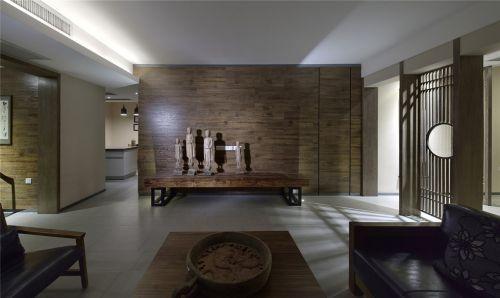 东南亚风格的客厅饰物效果图