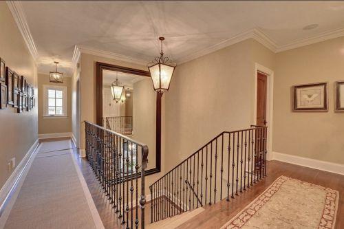 简约风格室内楼梯背景墙设计