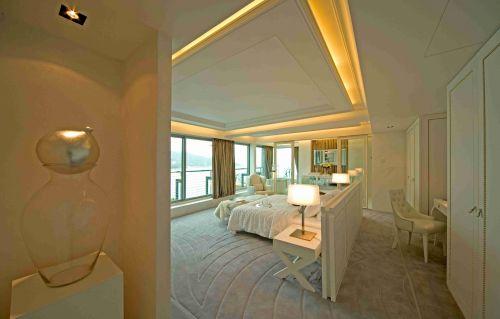 北欧风格卧室吊顶装修效果图