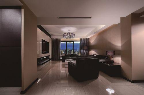 简约大气公寓客厅装修效果图