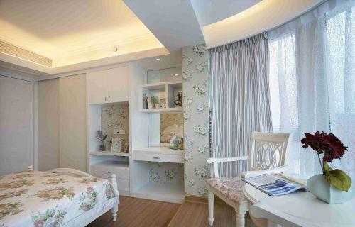 恬静田园卧室装修设计效果图