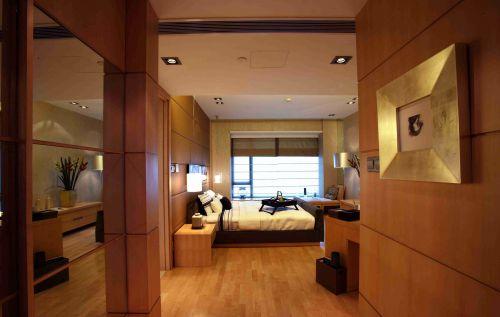 韩式风格卧室背景墙装修图片