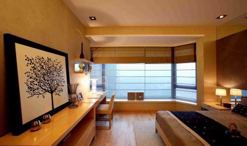 韩式风格卧室飘窗装潢设计图片