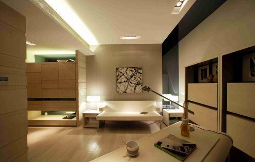 日式风格书房装潢设计效果图