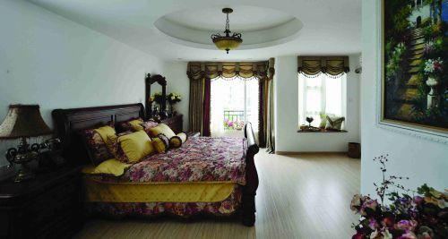 东南亚风格卧室吊顶装修图片